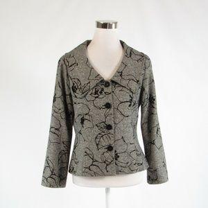 Ivory black DONCASTER blazer jacket 6